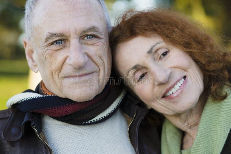 Portrait of Senior Couple royalty free stock photography