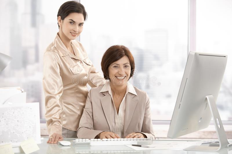 Download Portrait Of Senior Executive Woman With Assistant Stock Photo - Image: 17834428