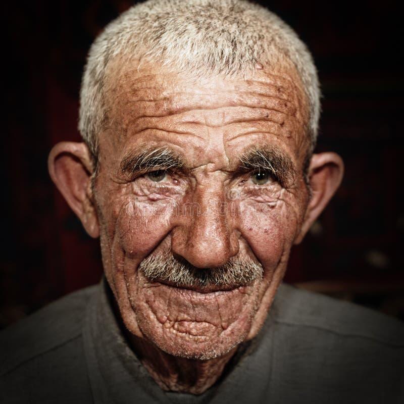 Portrait of senior man stock photo