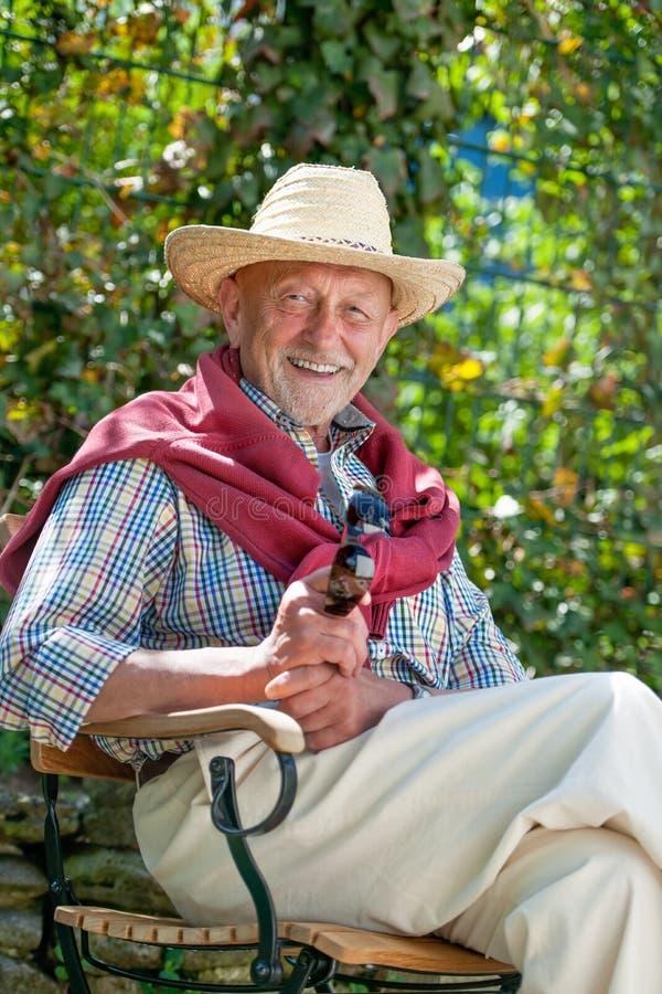 Download Portrait Of Senior Man Stock Photo - Image: 26296520