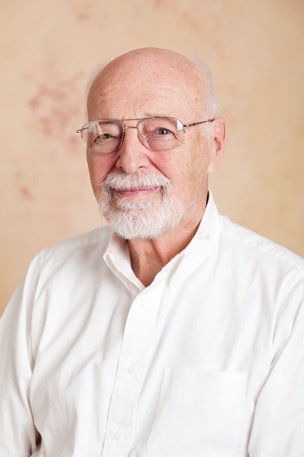 Portrait - Senior Man Serious royalty free stock photography