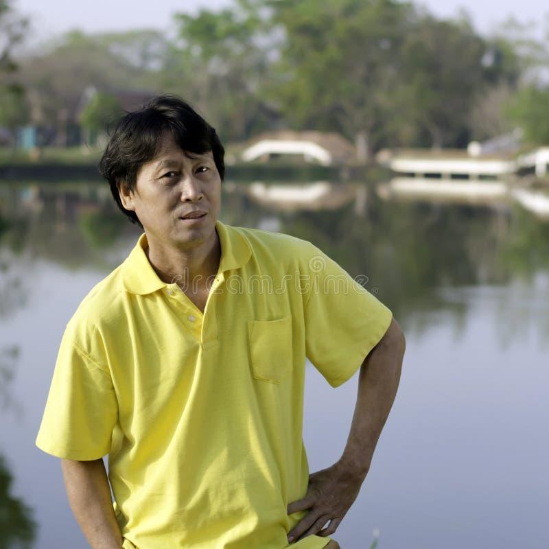 Senior Asian Man Royalty Free Stock Photo