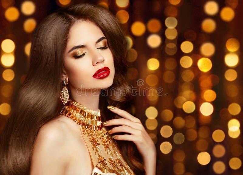 maquillage femme juive