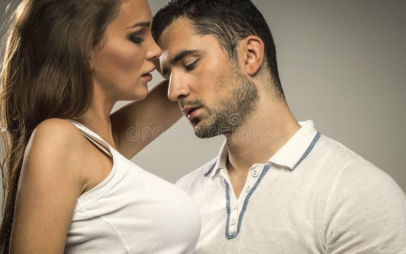 Portrait of couple stock photos