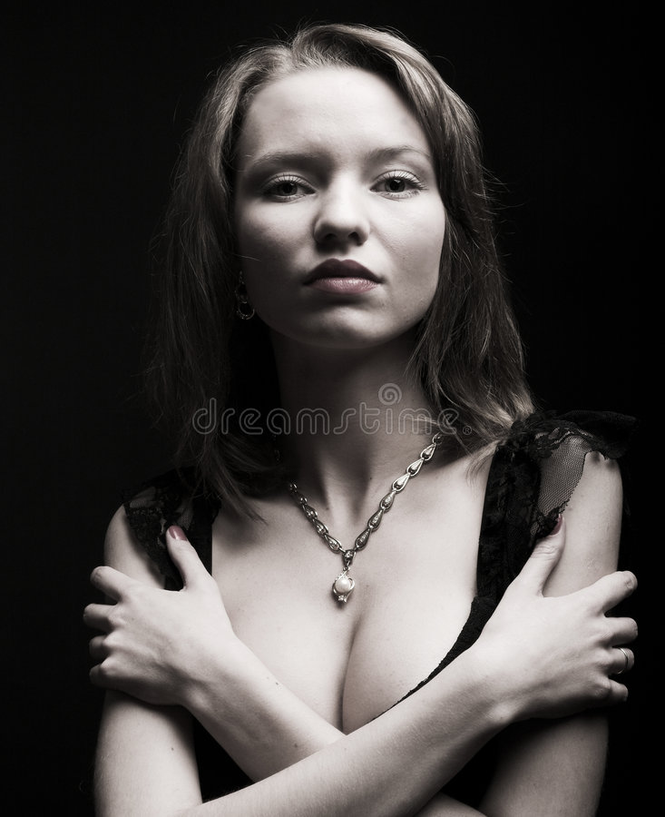 Download Portrait Of Mysterious Woman Stock Photography - Image: 5562342