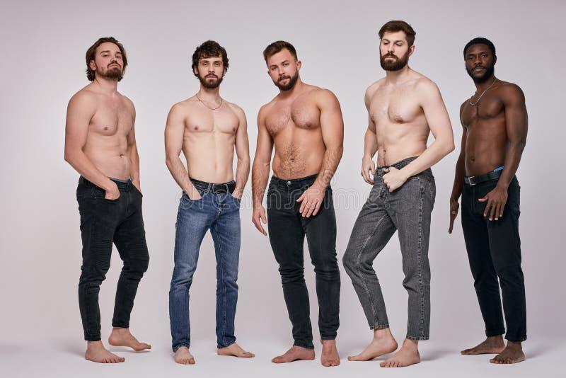Over 40 men shirtless Body Hair