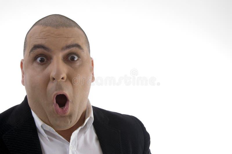 Download Portrait Of Shocked Businessman Stock Photo - Image: 7115492