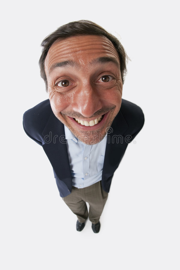 Download Portrait of a silly man stock photo. Image of expression - 8195382