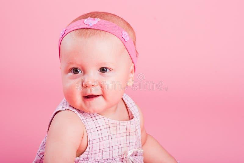Download Portrait Of The Small Beautiful Joyful Girl Stock Photo - Image: 17806946