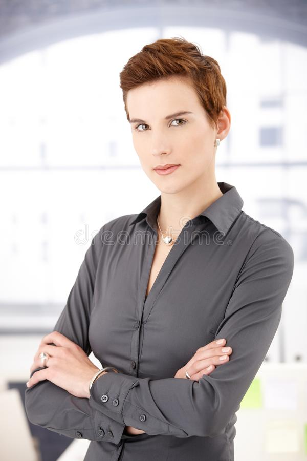 Download Portrait of smart woman stock photo. Image of face, hair - 17787558