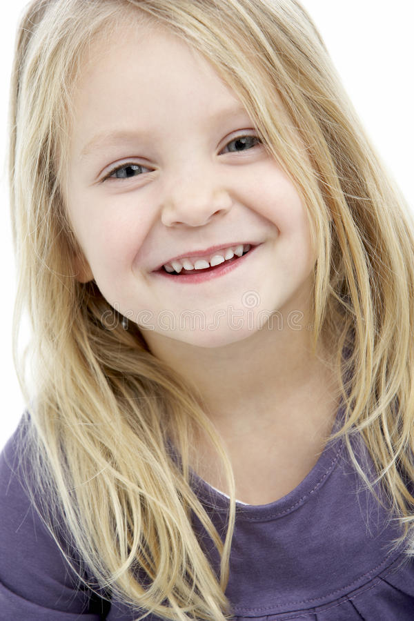 Download Portrait Of Smiling 4 Year Old Girl Stock Image - Image of child, person: 10002675