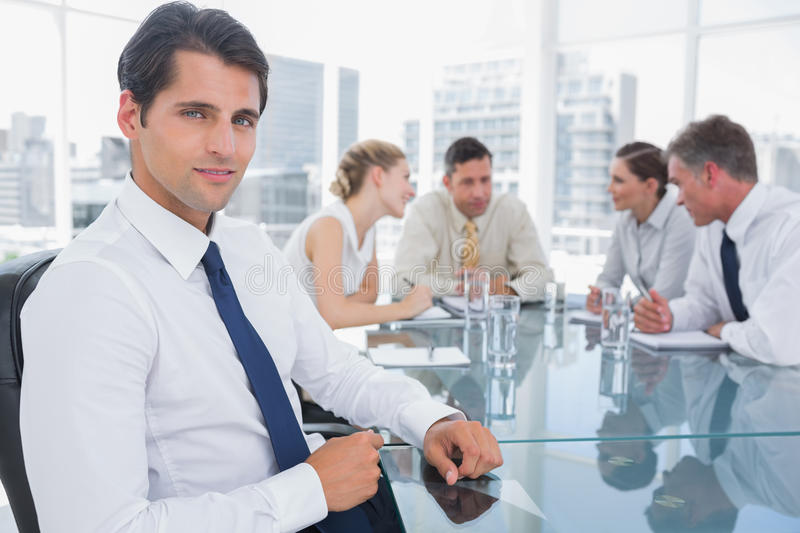 Download Portrait Of A Smiling Businessman Royalty Free Stock Image - Image: 31447146
