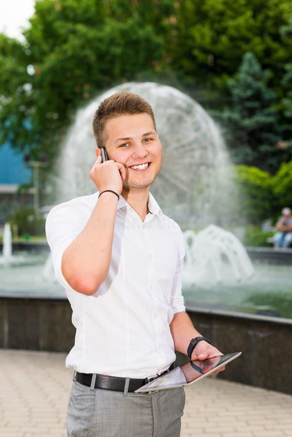 Download Portrait Of A Smiling Businessman Stock Image - Image: 31450817