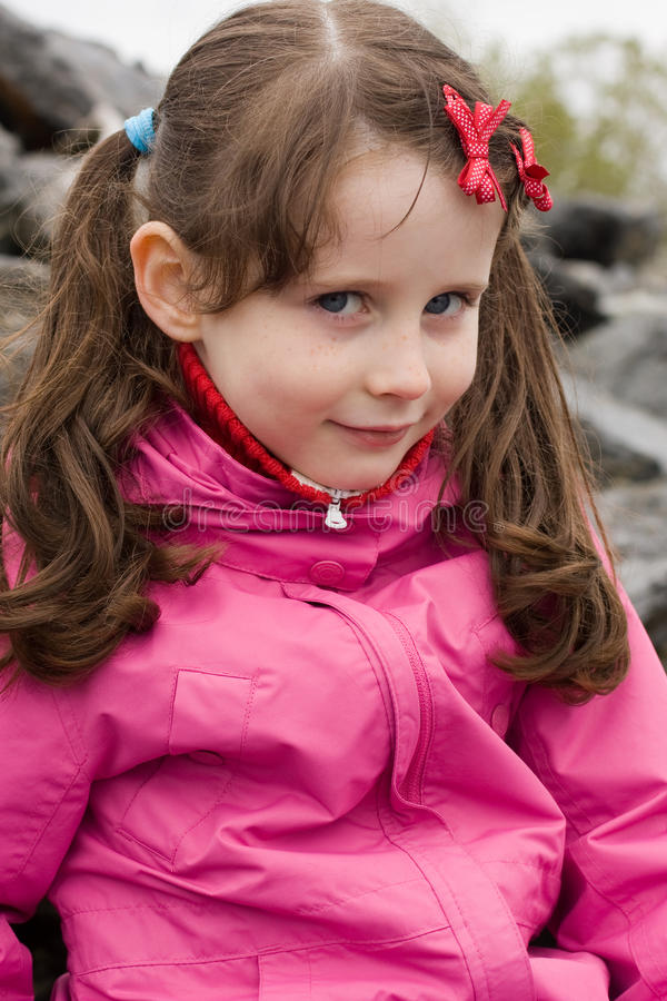 Download Portrait of smiling girl stock image. Image of child - 10399713