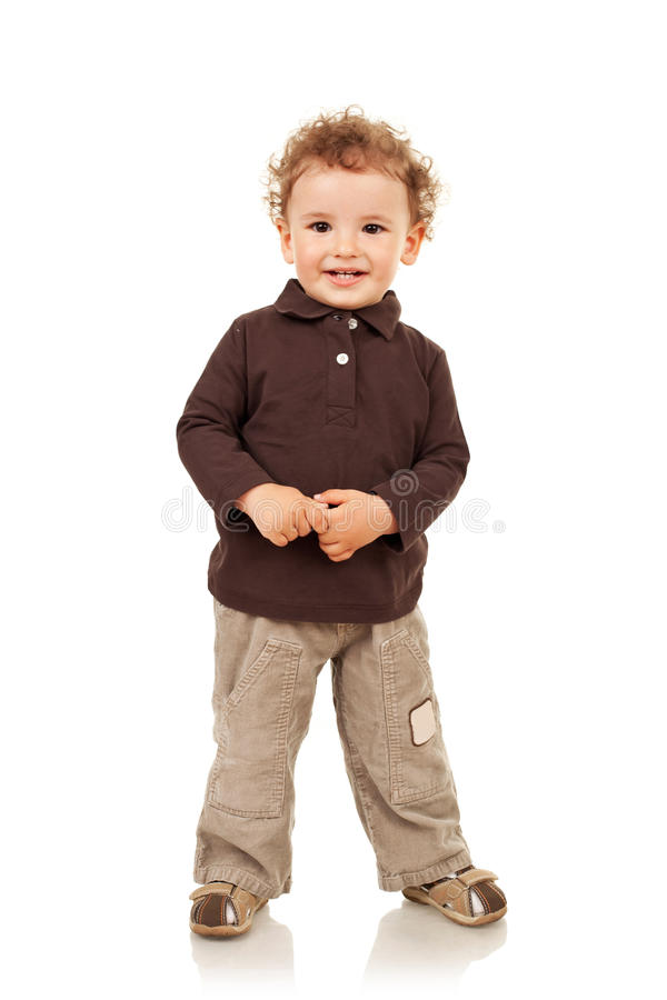 Download Portrait Of A Smiling Little Boy Stock Image - Image: 20286927