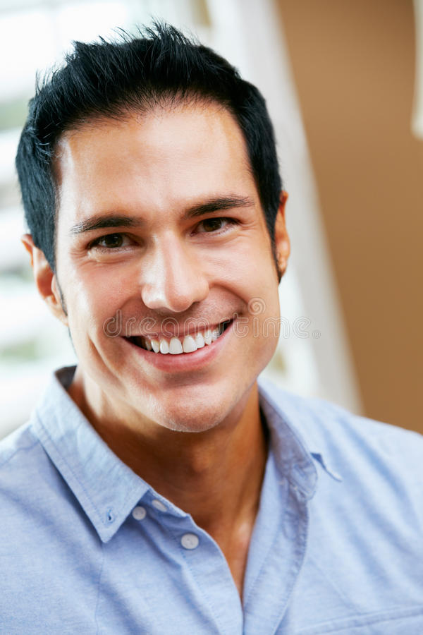 Download Portrait Of Smiling Man At Home Royalty Free Stock Photo - Image: 29055655