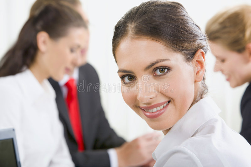 Download Portrait of specialist stock image. Image of businesswoman - 3339509