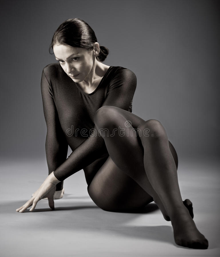 Portrait Of A  Sporting Woman Royalty Free Stock Photography