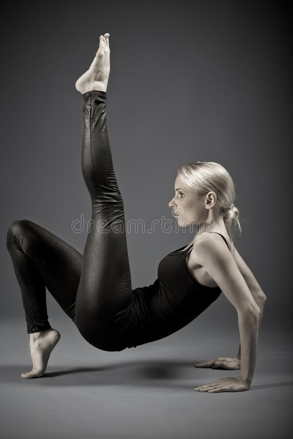 Download Portrait Of A  Sporting Woman Stock Photo - Image: 18732374