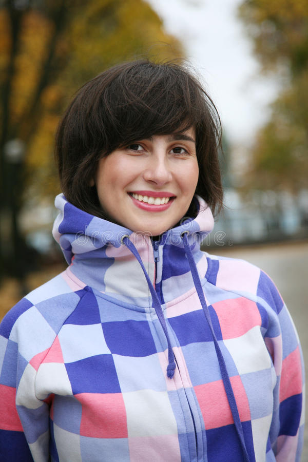 Download Portrait Of The Sports Girl Stock Photo - Image: 12685956