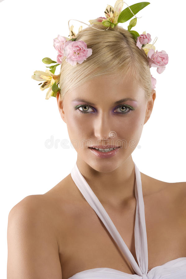 Portrait of spring royalty free stock image