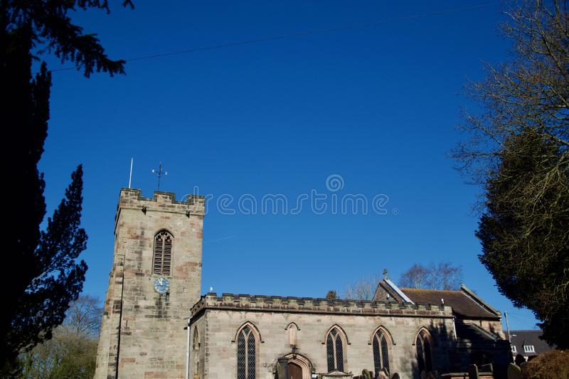 St Peters Church Southease East Sussex Stock Image