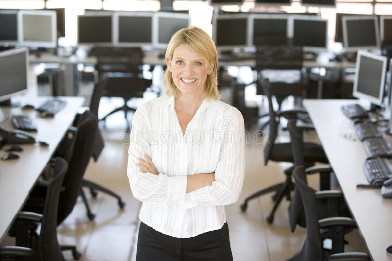 Portrait Of A Stock Trader royalty free stock photo