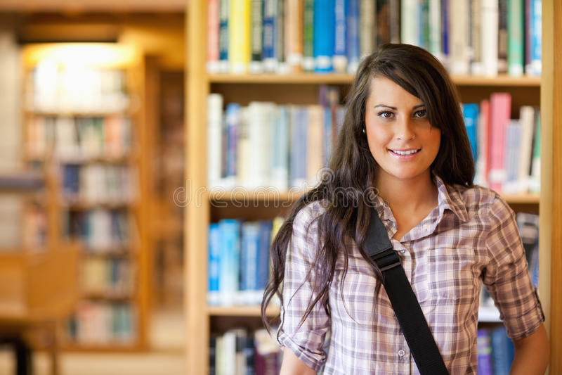 Portrait of a student posing royalty free stock images