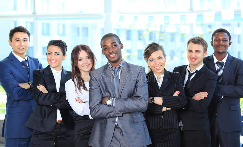 Portrait Of A Successful American African Royalty Free Stock Image