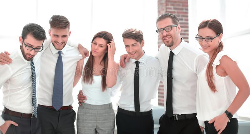 Portrait of a successful business team stock photo