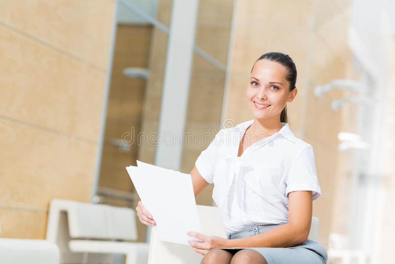 Download Portrait Of A Successful Business Woman Stock Image - Image: 28619401