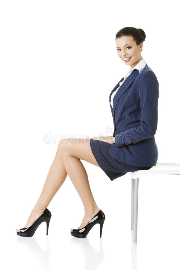 Portrait of successful businesswoman royalty free stock photography