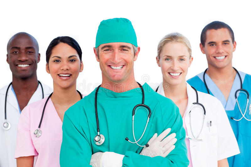 Download Portrait Of Successful Medical Team Stock Photos - Image: 12867863