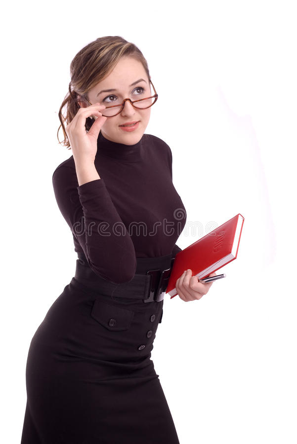 Portrait Of A Successful Young Business Woman Stock Photo