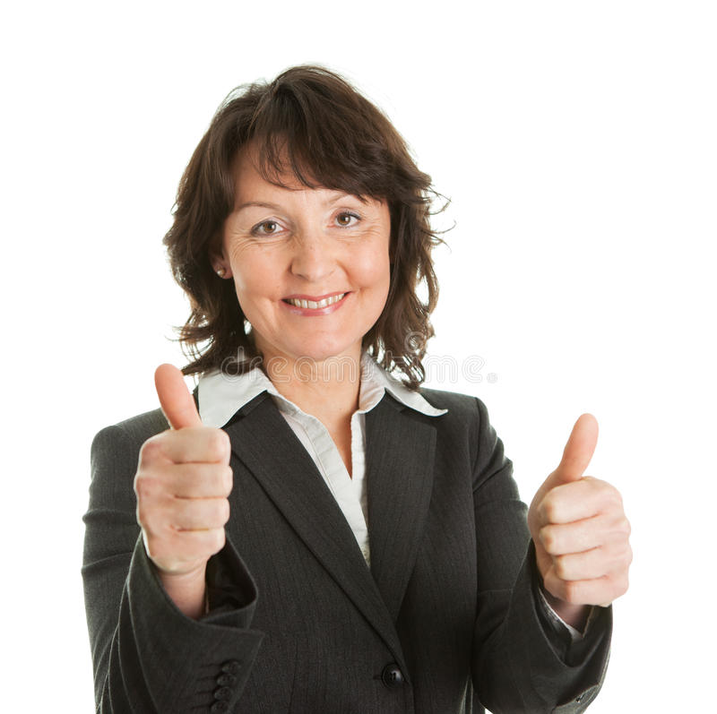 Download Portrait Of Sucessful Senior Businesswoman Stock Photo - Image of happiness, human: 18784842