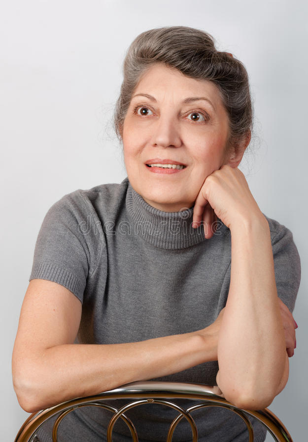 Portrait supérieur de femme photos stock