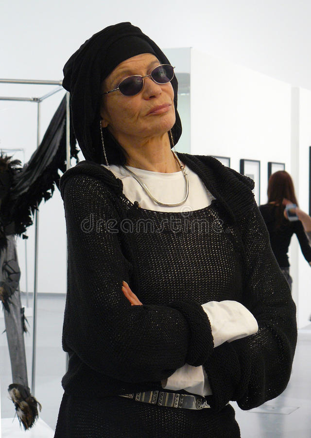 Download Portrait Of Supermodel Veruschka (Vera Lehndorff) Editorial Image - Image: 30505195