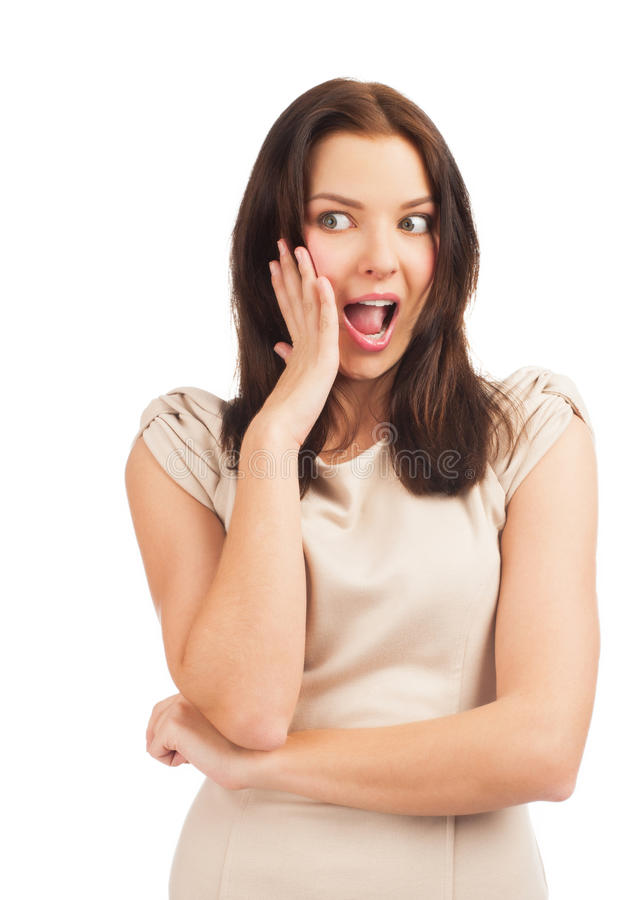 Download Portrait Of Surprised Woman Stock Image - Image: 22347817