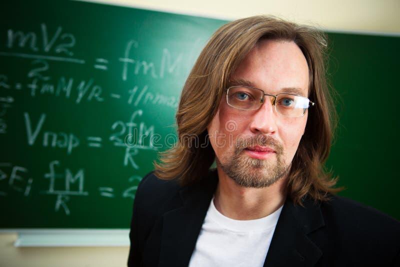 Portrait of teacher royalty free stock photos