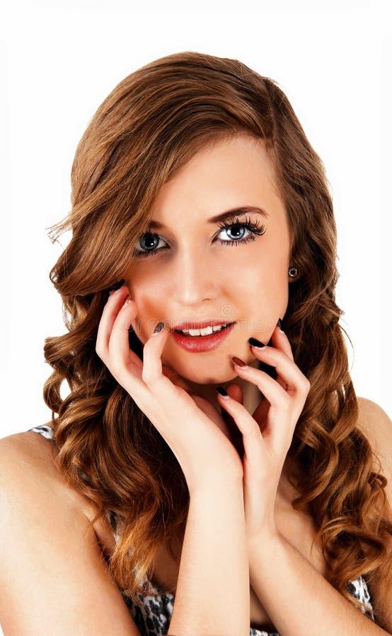Portrait of teen girl. stock image