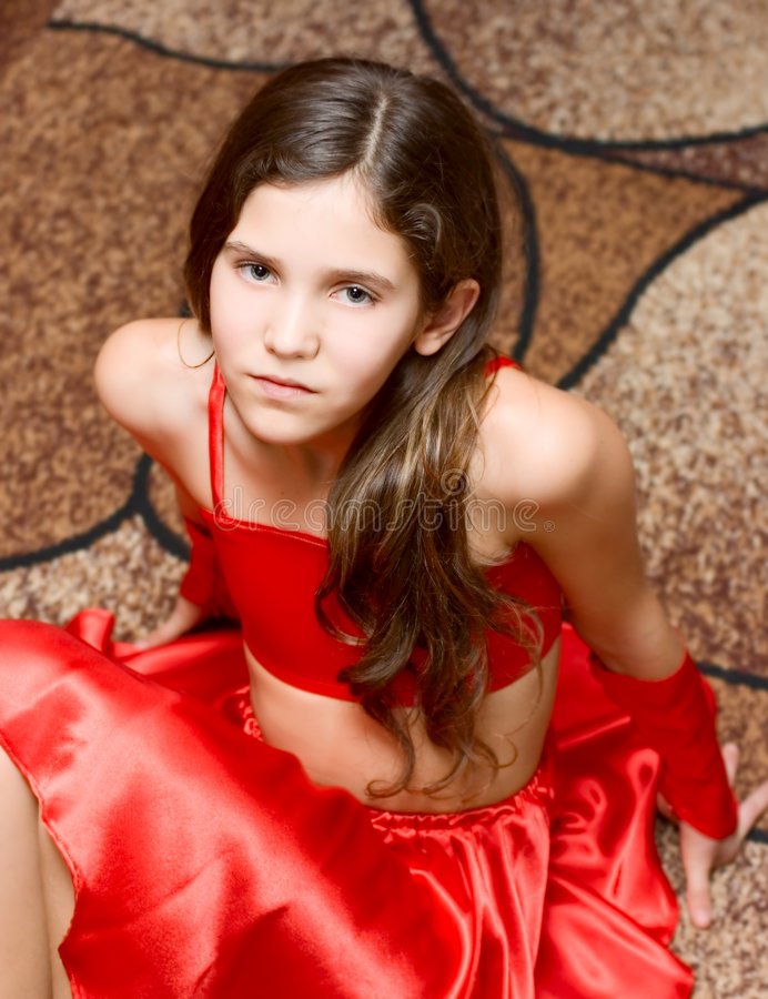 Free Portrait Teen Girl Stock Image - 7263311