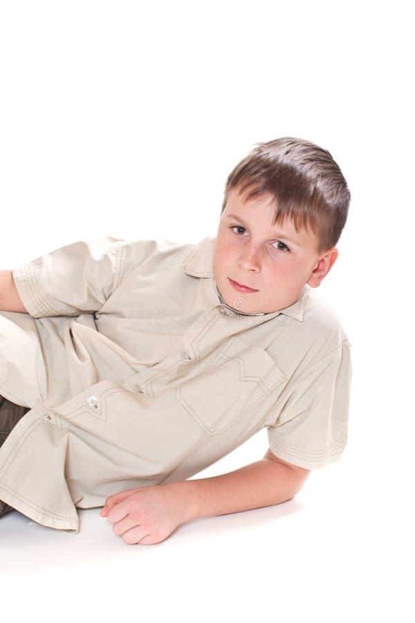 Portrait Of Teenage Boy Stock Photos