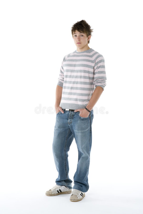 Download Portrait Of Teenage Boy stock photo. Image of person, moody - 7231420