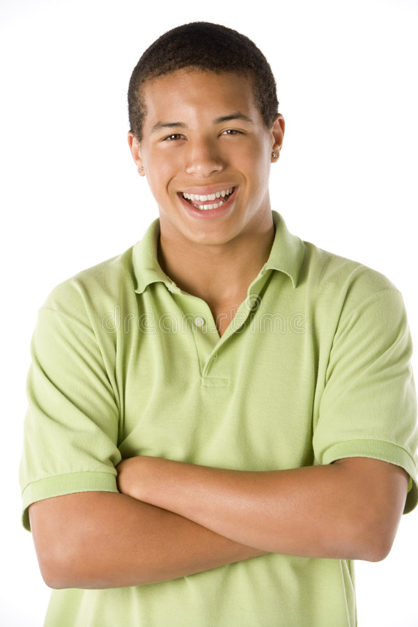 Portrait Of Teenage Boy royalty free stock photos