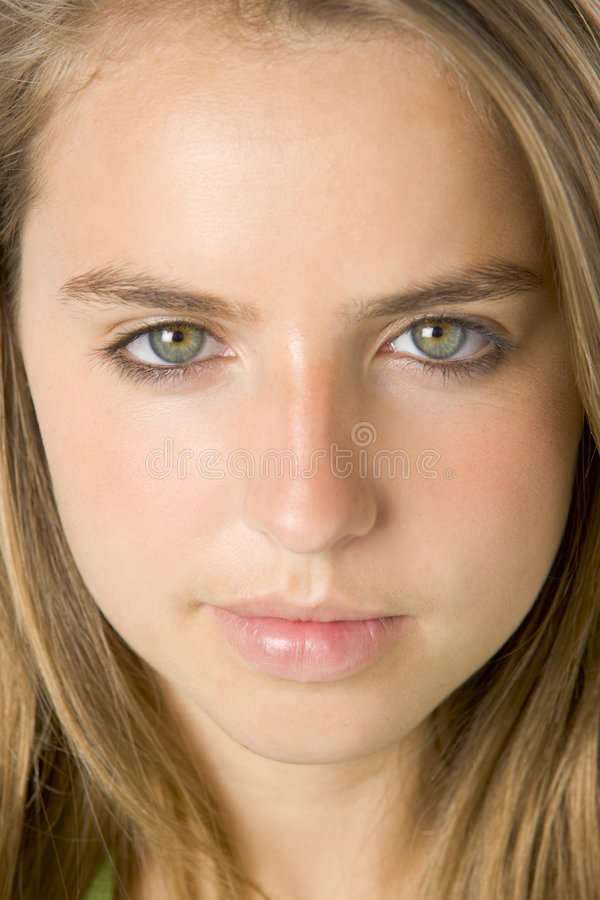 Download Portrait Of Teenage Girl stock photo. Image of year, teen - 7232392