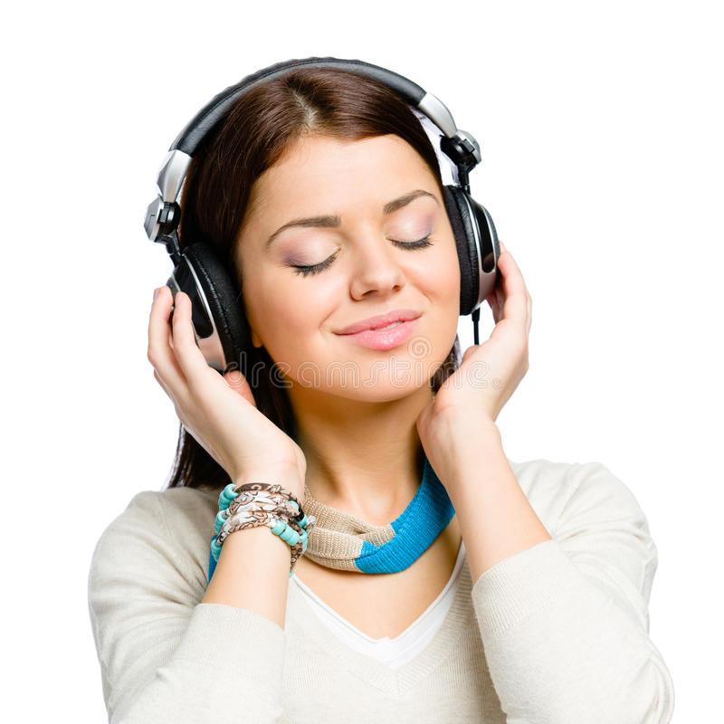 Download Portrait Of Teenager Listening To Music Stock Photo - Image of caucasian, adult: 34248536