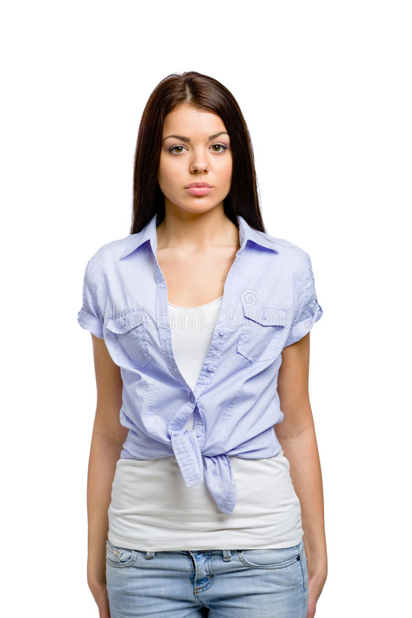 Download Portrait of teenager stock photo. Image of body, jeans - 34417392