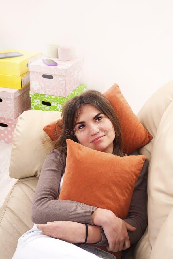 Free Portrait Thinking Woman Stock Photos - 39601553
