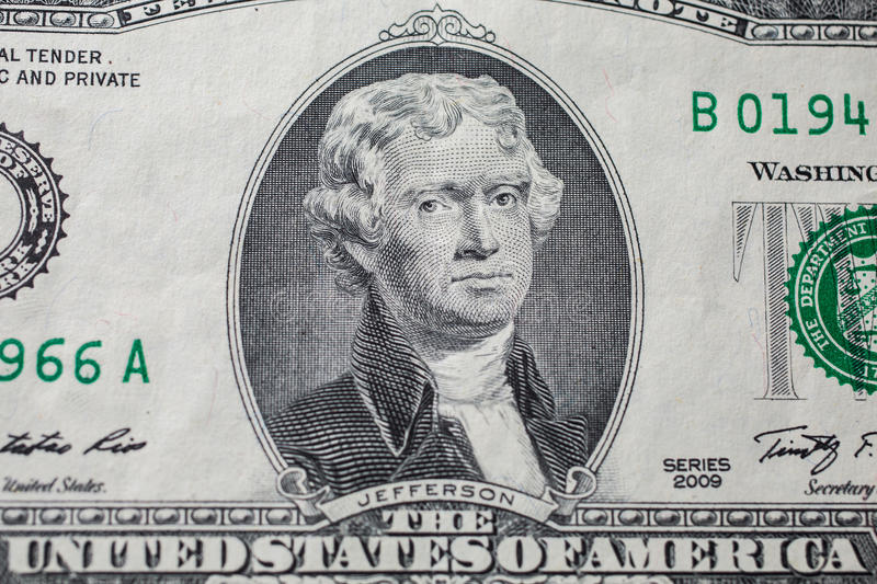 President Jefferson On Money
