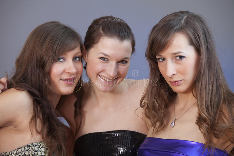 Download Portrait Of Three Friends Stock Photos - Image: 12954403